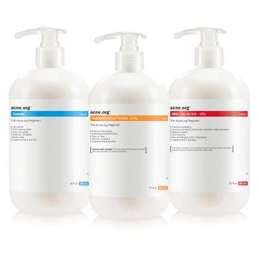 The Acne.org Body Regimen Kit